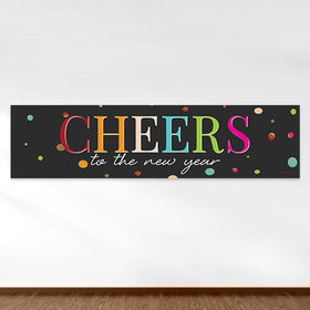 New Year's Eve Cheers 5 Ft. Banner