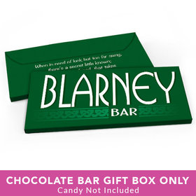 Deluxe Personalized St. Patrick's Day Blarney Bar Candy Bar Favor Box
