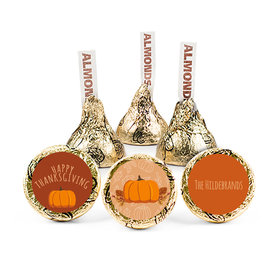 Personalized Thanksgiving Pumpkin Patch Hershey's Kisses (50 pack)
