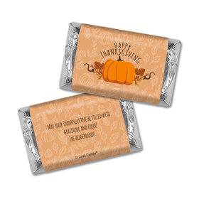 Personalized Thanksgiving Pumpkin Patch Hershey's Miniatures Wrappers