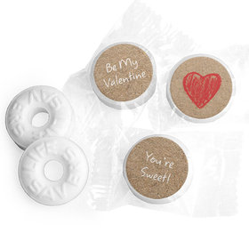Valentine's Day Life Savers Mints Red Heart