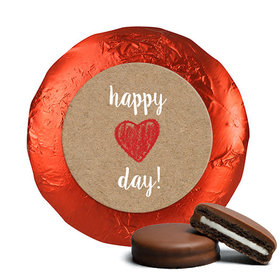 Valentine's Day Red Heart Chocolate Covered Oreos (24 Pack)