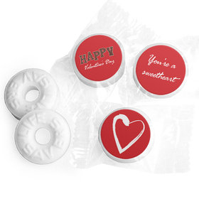 Valentine's Day Life Savers Mints White Heart