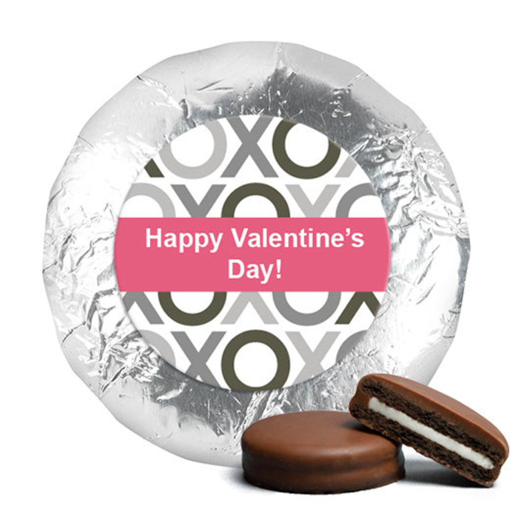 Valentine's Day XOXO Belgian Chocolate Covered Oreos (24 Pack) JCHV0010-OR