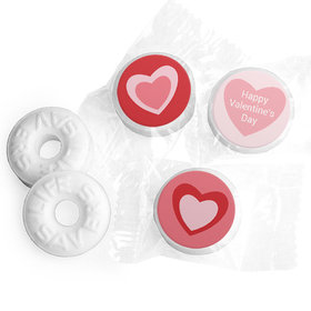 Valentine's Day Life Savers Mints Pink Hearts