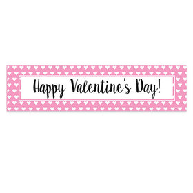 Valentine's Day Miniature Hearts 5 Ft. Banner