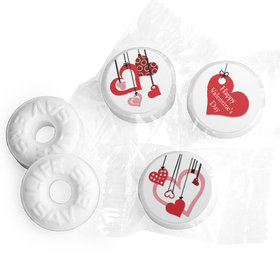 Valentine's Day Life Savers Mints Hanging Hearts
