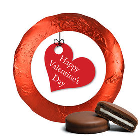 Valentine's Day Hanging Hearts Chocolate Covered Oreos (24 Pack)