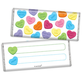 Fill in the Blank Valentine's Day Messages Chocolate Bar & Wrapper