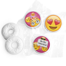 Valentine's Day Personalized Life Savers Mints Emoji Themed
