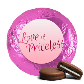 Valentine's Day Love is Priceless Milk Chocolate Covered Oreos (24 Pack)