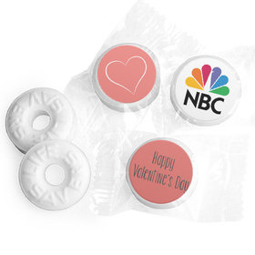 Valentine's Day Add Your Logo Life Savers Mints