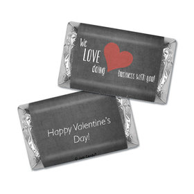 Love Doing Business with You Valentine's Day Hershey's Miniatures