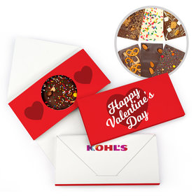 Personalized Valentine's Day Add Your Logo Gourmet Infused Belgian Chocolate Bars (3.5oz)