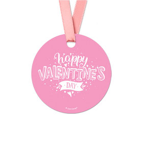 Hearts and Hugs Valentine's Day Favor Gift Tags (20 Pack)