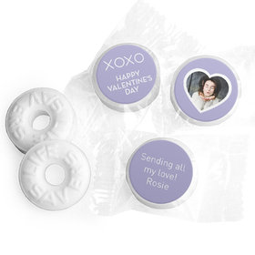 Personalized Valentine's Day XOXO Add Your Photo Life Savers Mints