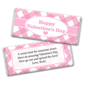 Personalized Valentine's Day Country Love Hershey's Chocolate Bar & Wrapper
