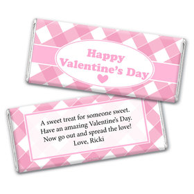 Personalized Valentine's Day Country Love Chocolate Bar Wrappers Only