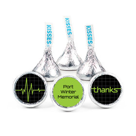 "Nurse Appreciation 3/4"" Sticker Heartbeat of Thanks (108 Stickers)"
