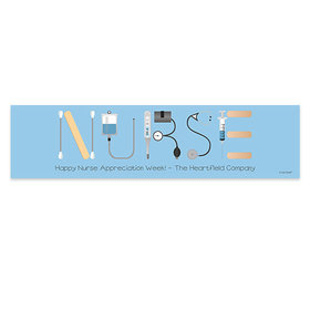 Personalized Nurse Appreciation First Aid 5 Ft. Banner