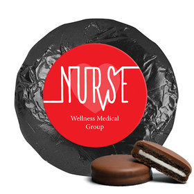 Personalized Nurse Appreciation Milk Chocolate Covered Oreo Cookies Nurse Pulse