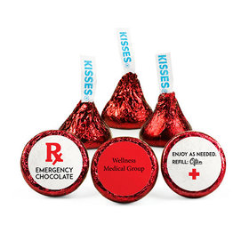 Personalized Nurse Appreciation Emergency Hershey's Kisses (50 pack)