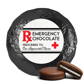 Nurse Appreciation Milk Chocolate Covered Oreo Cookies Emergency Chocolate