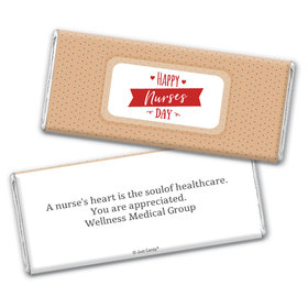 Personalized Nurse Appreciation Happy Nurses Day Chocolate Bars