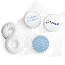 Personalized Nurse Appreciation Add Your Logo Life Savers Mints