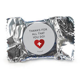 Personalized Nurse Appreciation First Aid Heart York Peppermint Pattiess