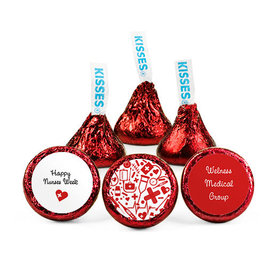 Personalized Nurse Appreciation Medical Heart Hershey's Kisses (50 pack)