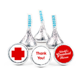 "Nurse Appreciation Red Cross 3/4"" Stickers (108 Stickers)"