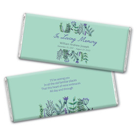 Personalized In Loving Memory Remembrance Hershey's Chocolate Bar & Wrapper