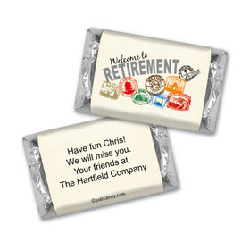 Personalized Retirement Mini Wrappers