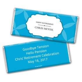 Personalized Retirement Chocolate Bar & Wrapper