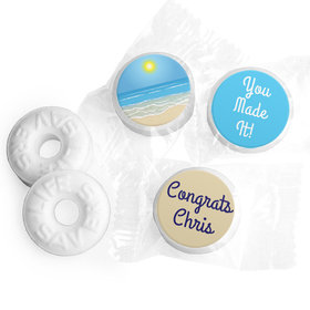 Retirement Favors - Relax Stickers - Life Savers