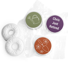 Retirement Favors - Green Thumb Stickers - Life Savers