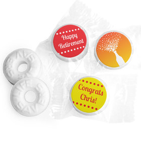 Retirement Favors - Celebrate Stickers - Life Savers