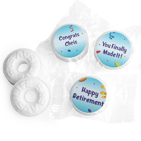 Retirement Favors - All Fun Stickers - Life Savers