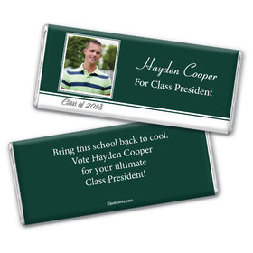 Election Campaign Personalized Chocolate Bar Wrappers