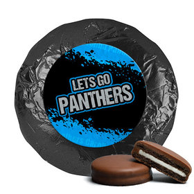 Go Panthers! Superbowl Milk Chocolate Covered Oreo Cookies (24 Pack)