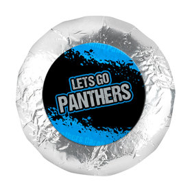 "Go Panthers! Super Bowl 1.25"" Stickers (48 Stickers)"