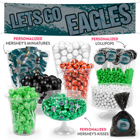 Lets Go Eagles Deluxe Candy Buffet
