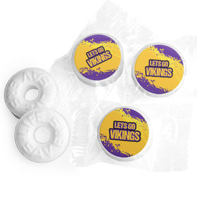 Let's Go Vikings Football Party Life Savers Mints