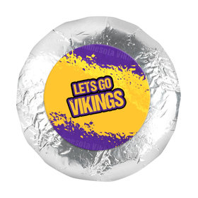 "Go Vikings! Super Bowl 1.25"" Stickers (48 Stickers)"