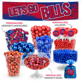Lets Go Bills Deluxe Candy Buffet