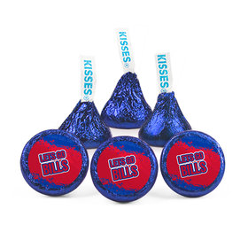 Let's Go Bills Football Party Hershey's Kisses (50 Pack)