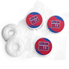 Let's Go Bills Football Party Life Savers Mints