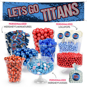 Lets Go Titans Deluxe Candy Buffet