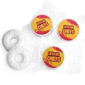 Let's Go Chiefs Football Party Life Savers Mints